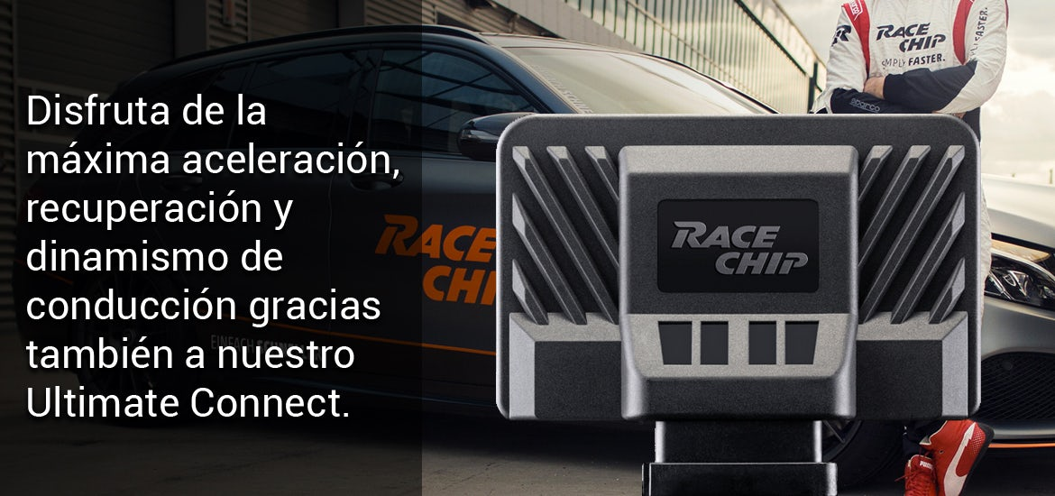 RaceChip Ultimate Mercedes E (W212) 300 CDI BlueEF. 204 cv